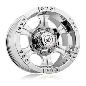 Rev 824 Shooter Chrome 15 X 8 Inch Wheels