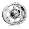 Rev 824 Shooter Chrome 17 X 9 Inch Wheels