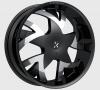 Rockstarr 962 Stones 24X9 Black