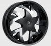 Rockstarr 962 Stones 26X9 Black