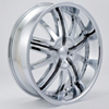 Rockstarr Wheels 349 Solja Chrome Black Inserts Wheel Packages