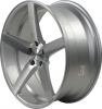 Rovos Durban 22X9 Gloss Silver and Brushed Face