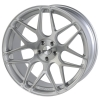 Rovos Pretoria 22X9 Gloss Silver and Brushed Face