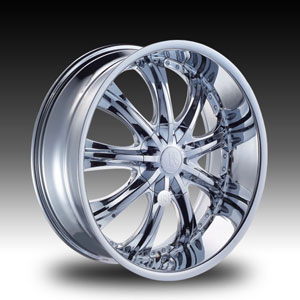 Red Sport RS33 Chrome Wheel Packages