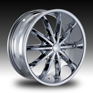 Red Sport RS44 Chrome Wheel Packages