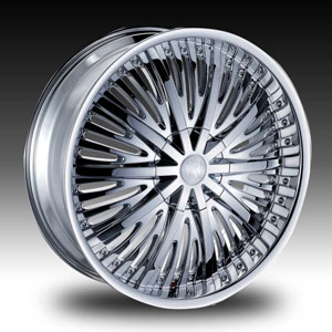 Red Sport RS66 Chrome Wheel Packages
