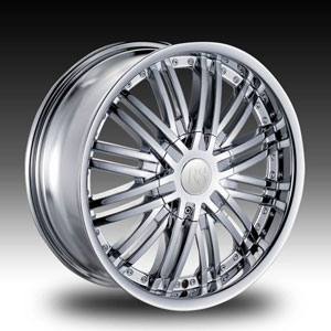 Red Sport RS99 Chrome 28 X 10 Inch Wheel