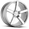 Ruff Racing R1 20X8.5 Chrome