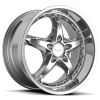 Ruff Racing R280 20X8.5 Chrome