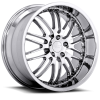 Ruff Racing R281 20X10 Chrome