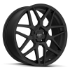 Ruff Racing R351 17X7.5 Flat Black
