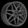 Ruff Racing R351 18X8 Flat Gunmetal
