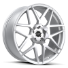 Ruff Racing R351 20X8.5 Hyper Silver with Machined Face