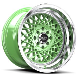 Ruff Racing R362 15X8.5 Green