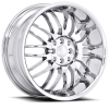 Ruff Racing R951 17X7.5 Chrome