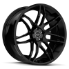 Ruff Racing R960 20X10 Satin Black