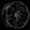 Ruff Racing R960 22X9 Satin Black