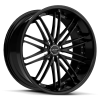 Ruff Racing R980 22X9 Satin Black
