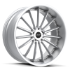 Ruff Racing R981 20X8.5 Hyper Silver with Machined Face