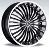 SFOne Number 13 22X10.5 Black Machined