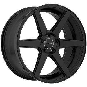SOTHIS SC002 22X9 Flat Black