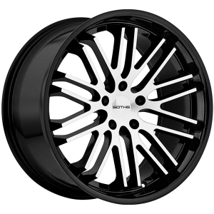 SOTHIS SC003 22X9 Gloss Black Machined