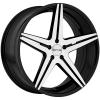 SOTHIS SC004 20X10 Gloss Black Machined