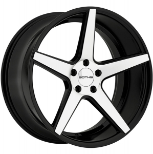 SOTHIS SC005 20X8.5 Gloss Black Machined