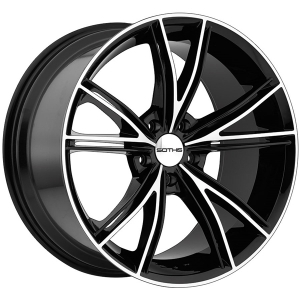 SOTHIS SC100 22X9 Gloss Black Machined