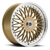 SPEC-1 SP-3 17X7.5 Gold Metal Lip