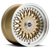 SPEC-1 SP-3T 15X8 Gold Metal Lip