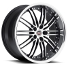 SPEC-1 SP-7 20X10 Gloss Black Machined