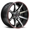 SPEC-1 SPT-17 15X8 Gloss Black Machined