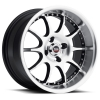 SPEC-1 SPT-3 15X8 Gloss Black Machined