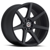 SPEC-1 SPT-6 17X7.5 Matte Black