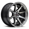 SPEC-1 SPT-8 15X8 Gloss Black Machined