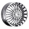 Strada Spina Chrome 24 X 9.5 Inch Wheels