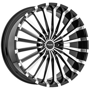 Panther Spline 911 Black Wheel Packages