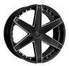 Starr 221 Blazer 18X7.5 Black