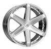 Starr 221 Blazer 24X9 Chrome