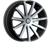 Starr 222 Mayhem 18X7.5 Black