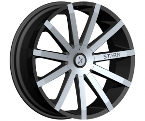 Starr 222 Mayhem 20X8.5 Black