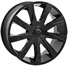 Starr Wheels 519 Aventus Black 17 X 7.5 Inch Wheels