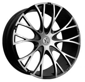 Starr 554 Federal 24X9.5 Black