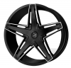 Starr 555 Govenor 22X9.5 Black