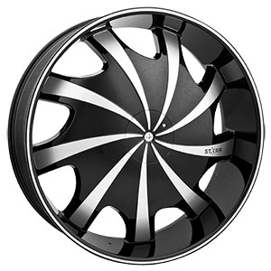 Starr Wheels 569 Bear Black Wheel Packages