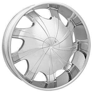 Starr Wheels 569 Bear Chrome Wheel Packages