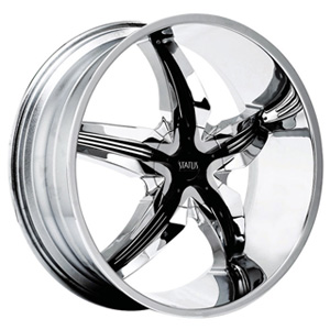 Status Dystany 822 Chrome with Black Inserts Wheel Packages