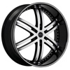 Status Knight 817 Black with Machined 22 X 10 Inch Wheel