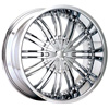 Status Knox 223 Chrome 20 X 8.5 Inch Wheel